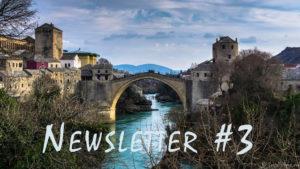 Road Trip: Monténégro, Bosnie-Herzegovine & Croatie – Newsletter #3