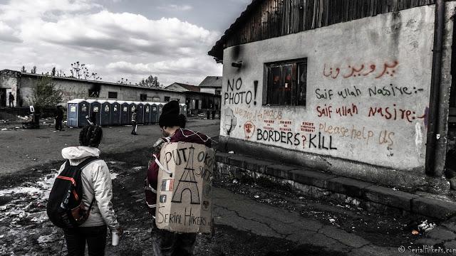 SerialHikers stop autostop world monde tour hitchhiking aventure adventure alternative travel voyage sans avion no fly belgrade squat migrant