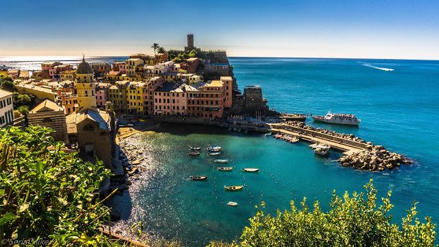 Les principales villes du nord de l'Italie voyage roadtrip tour du monde aventure Cinque terre