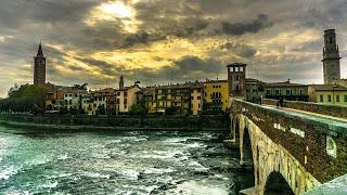 Les principales villes du nord de l'Italie voyage roadtrip tour du monde aventure travel Verona Verone
