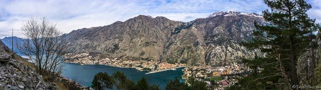 Jul&Gaux SerialHikers autostop hitchhiking aventure adventure alternative travel voyage volontariat volonteering kotor montenegro panorama
