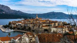 La péninsule croate, d'Orebić à Korčula – Croatie