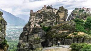 Les monastères perchés des Météores – Grèce