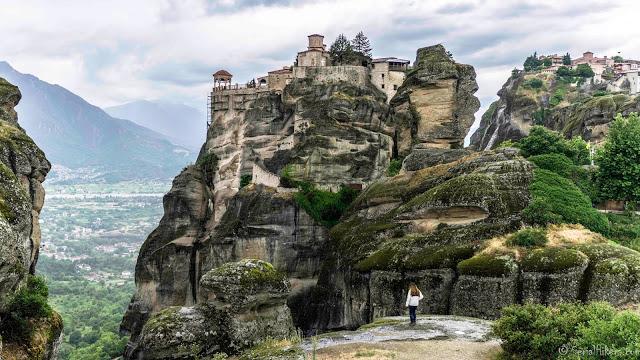 SerialHikers stop autostop world monde tour hitchhiking aventure adventure alternative travel voyage sans avion no fly grèce greece monastries monasteres meteores meteora