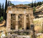 Jul&Gaux SerialHikers autostop hitchhiking aventure adventure alternative travel voyage volontariat volonteering delphi greece grece ancient archaeological archeologique