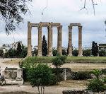 Jul&Gaux SerialHikers autostop hitchhiking aventure adventure alternative travel voyageathenes zeus athens grece antique