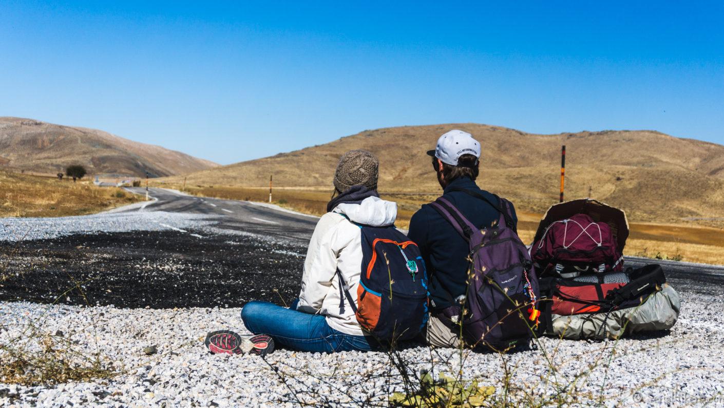SerialHikers stop autostop world monde tour hitchhiking aventure adventure alternative travel voyage sans avion no fly turquie turkey nemrut first year