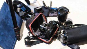 Notre matériel PHOTO/VIDEO/PC optimisé pour un Tour du Monde!