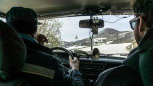 Uvac Serbie autostop communication communiquer