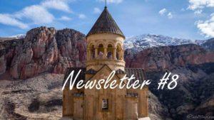 Road Trip: Arménie & Géorgie – Newsletter #8