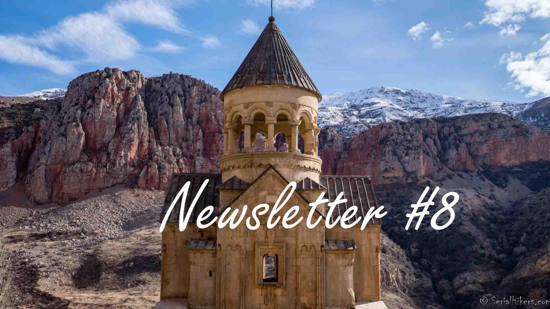 SerialHikers stop autostop world monde tour hitchhiking aventure adventure alternative travel voyage sans avion no fly caucase armenia armenie Noravank monastery monastère