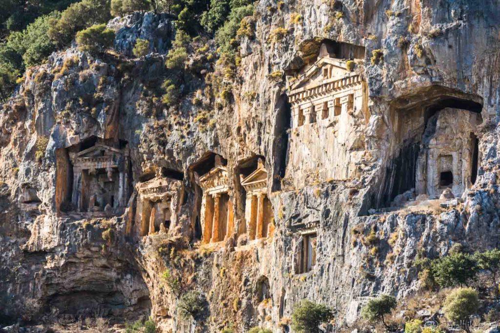 Turquie Dalyan lycian ancient archaeological archéologie Turkey serialhikers tour du monde world trip voyage alternatif autostop hitchhiking volontariat volonteering adventure aventure
