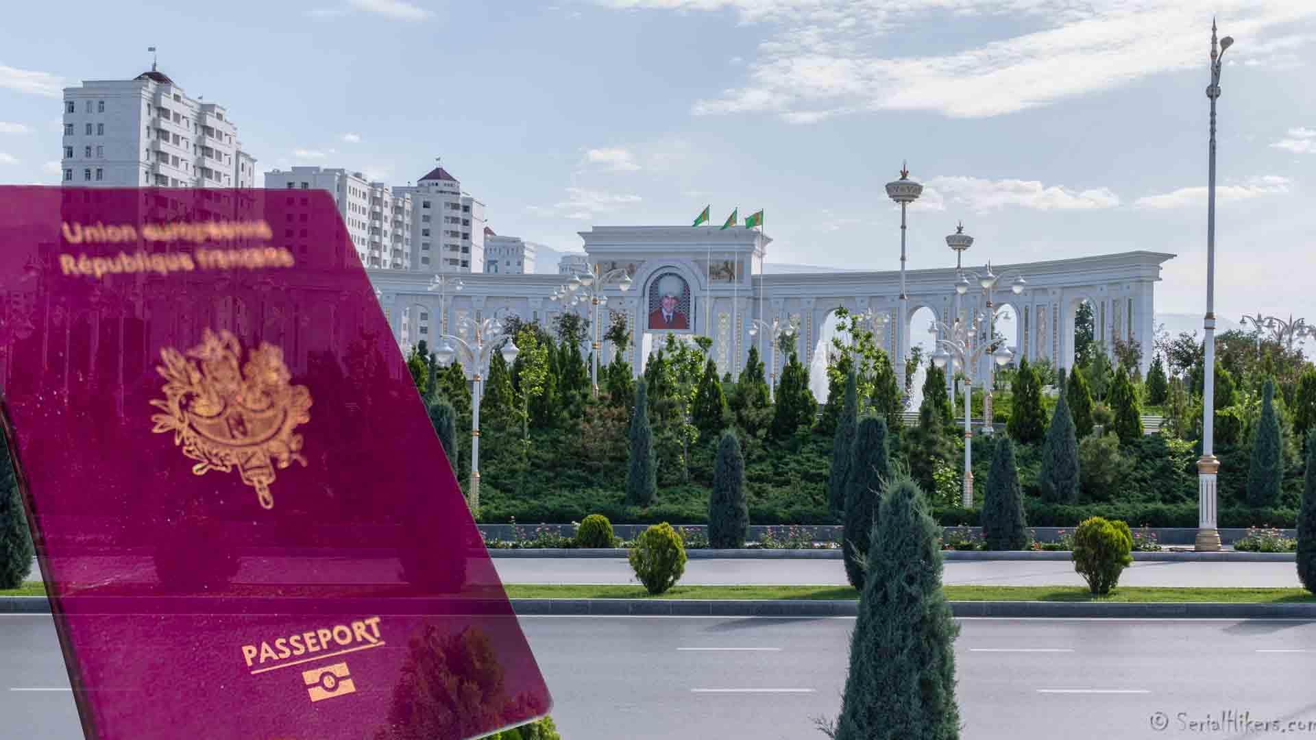 SerialHikers stop autostop world monde tour hitchhiking aventure adventure alternative travel voyage sans avion no fly visa transit turkmenistan teheran iran embassy ambassade