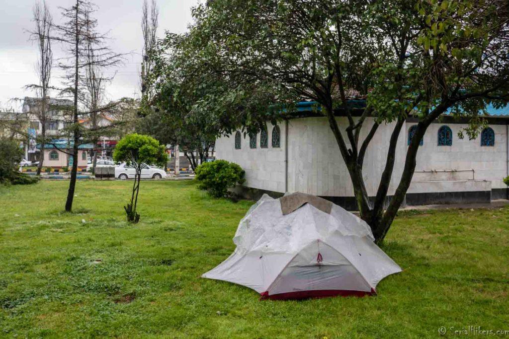 camping langrud backpacking Jul&Gaux SerialHikers autostop hitchhiking aventure adventure alternative travel voyage volontariat volonteering Iran deux ans two years bilan overview
