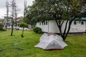 camping langrud backpacking Jul&Gaux SerialHikers autostop hitchhiking aventure adventure alternative travel voyage volontariat volonteering Iran