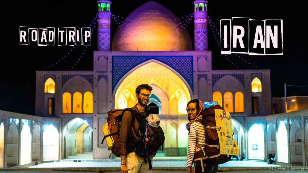 SerialHikers stop autostop world monde tour hitchhiking aventure adventure alternative travel voyage sans avion no fly newsletter Kachan Iran