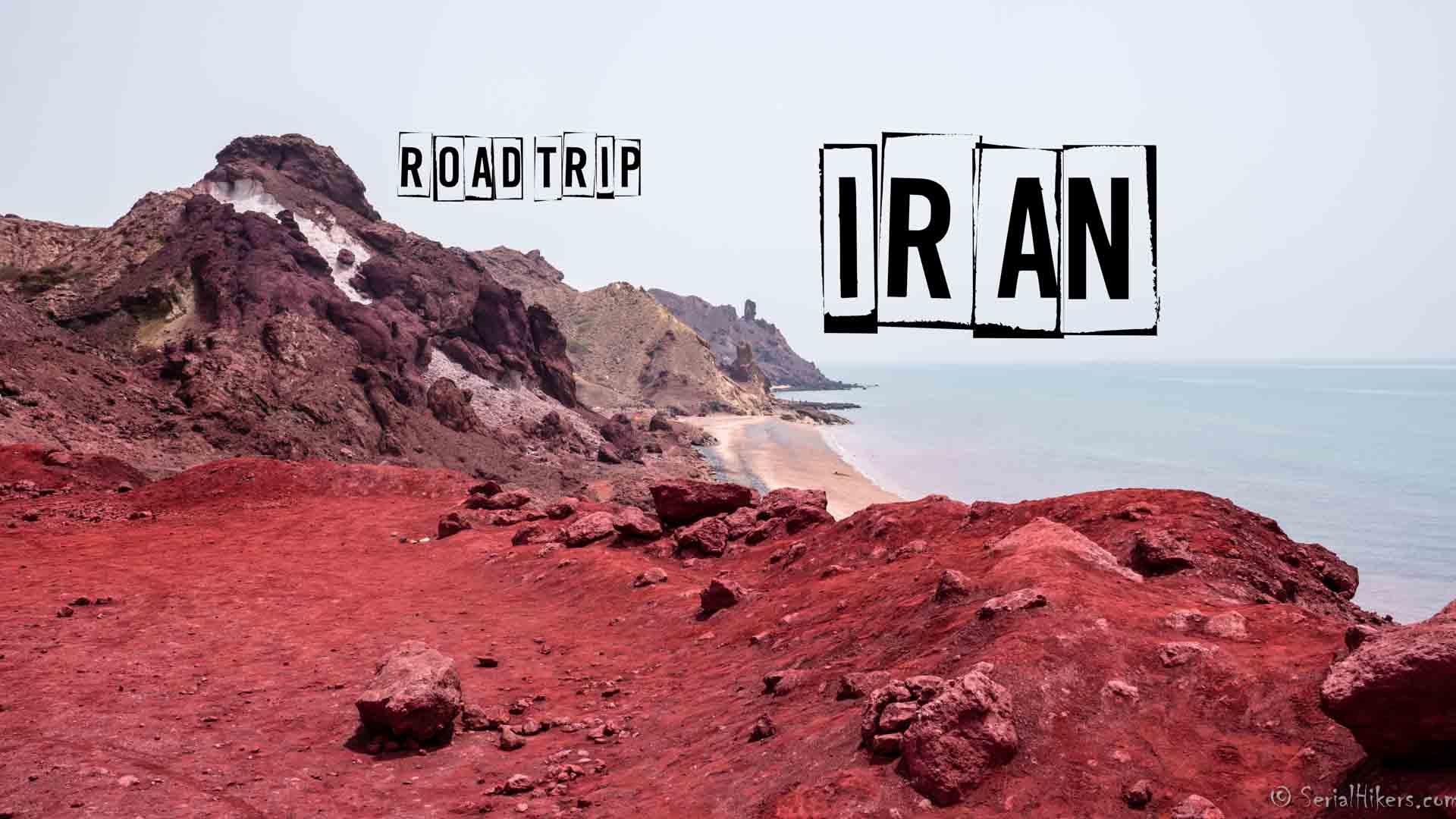 SerialHikers stop autostop world monde tour hitchhiking aventure adventure alternative travel voyage sans avion no fly newsletter Iran Hormuz Hormouz island ile couleurs colors