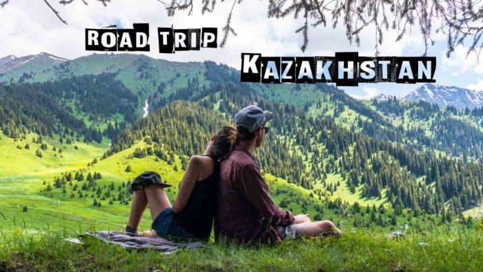 backpacking Jul&Gaux SerialHikers autostop hitchhiking aventure adventure alternative travel voyage volontariat volonteering Kazakhstan Kok Zhailau Almaty