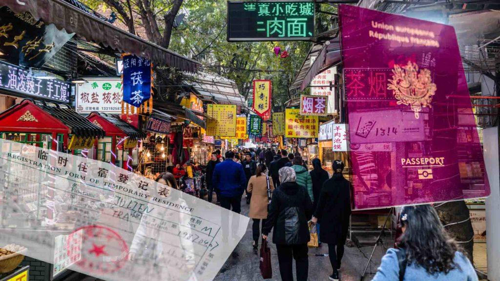 SerialHikers stop autostop world monde tour hitchhiking aventure adventure alternative travel voyage sans avion no fly asie chine china visa extension xian xi'an