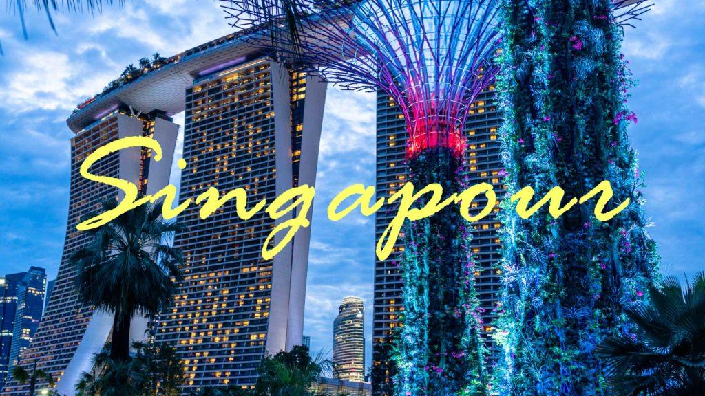 Singapour marina bay guide destination