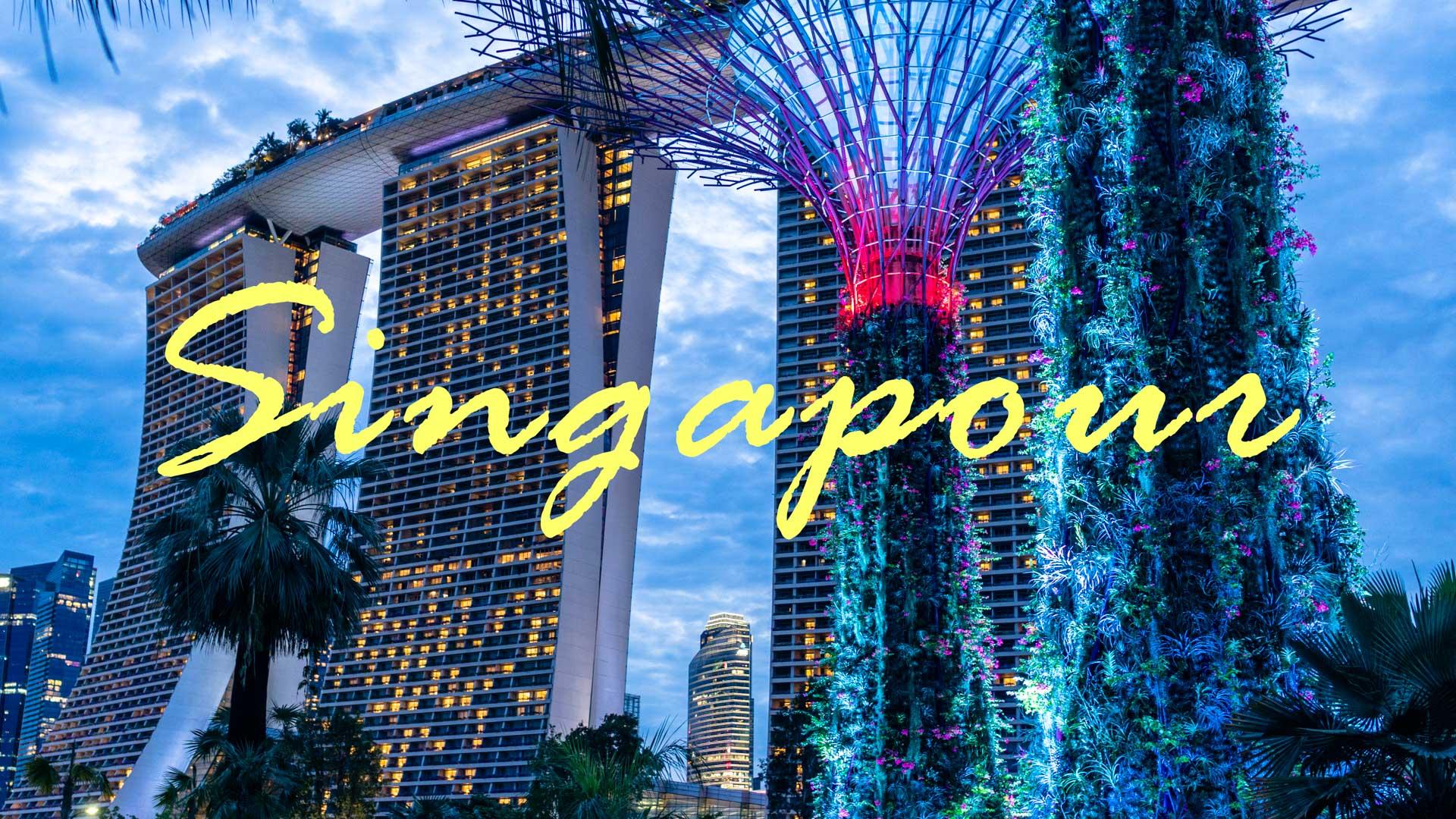 SerialHikers stop autostop world monde tour hitchhiking aventure adventure alternative travel voyage sans avion no fly singapour singapore destination marina bay gardens guide