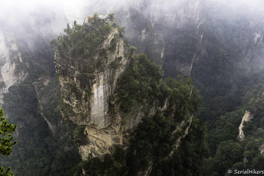 SerialHikers stop autostop world monde tour hitchhiking aventure adventure alternative travel voyage sans avion no fly china chine hunan zhangjiajie parc avatar