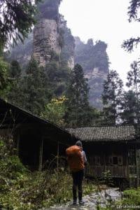 backpacking Jul&Gaux SerialHikers stop autostop world tour hitchhiking aventure adventure alternative travel voyage volontariat volonteering china chine zhangjiajie parc park avatar