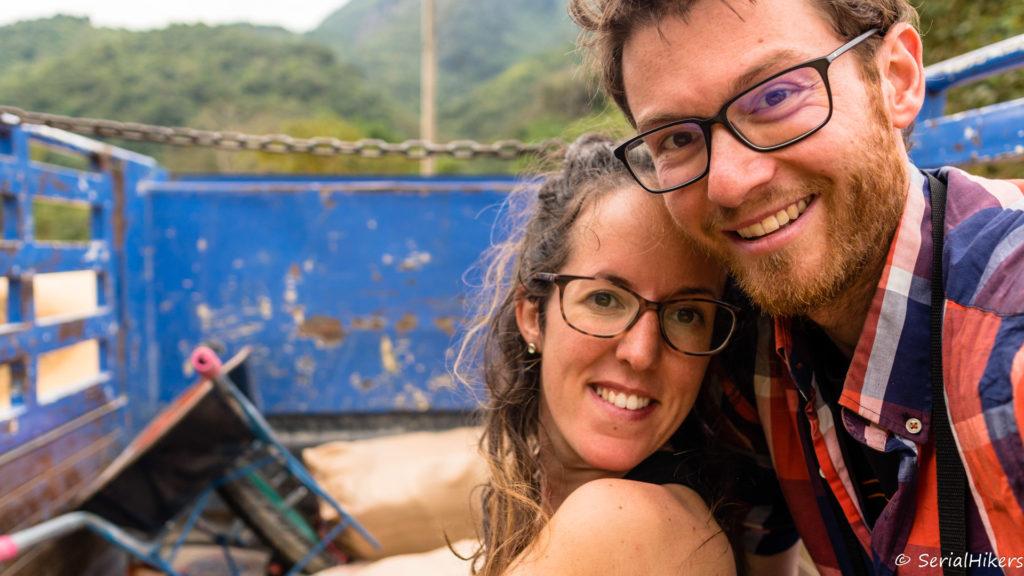 backpacking Jul&Gaux SerialHikers stop autostop world tour hitchhiking aventure adventure alternative travel voyage roadtrip Laos