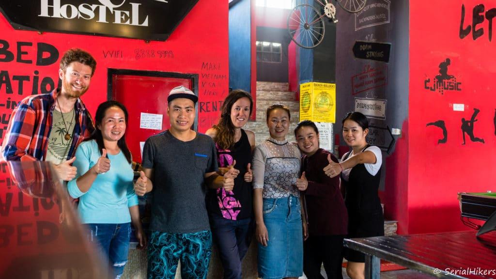 backpacking Jul&Gaux SerialHikers stop autostop world tour hitchhiking aventure adventure alternative travel voyage volontariat volonteering Laos Vang Vieng