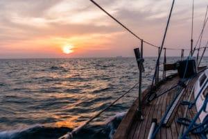 La première fois… en voilier-stop
